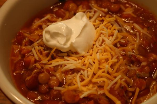 Dinahs Dishes Lentil Chili