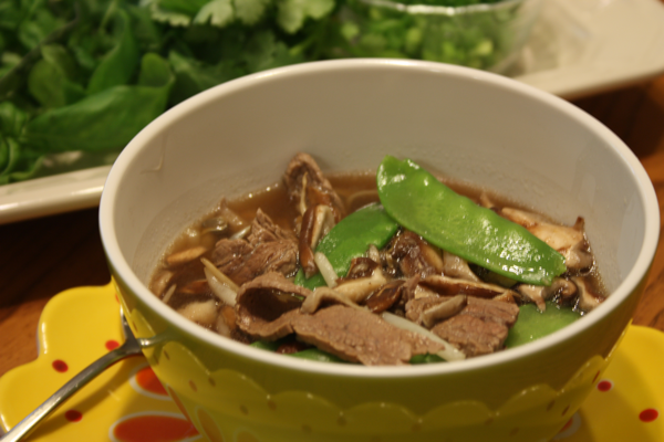 Dinah's Dishes – Vietnamese-Style Beef Noodle Soup (Pho)