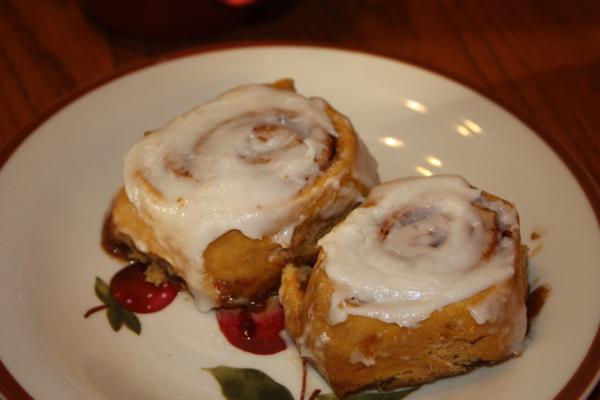 Home » Breakfast » Pumpkin Cinnamon Rolls