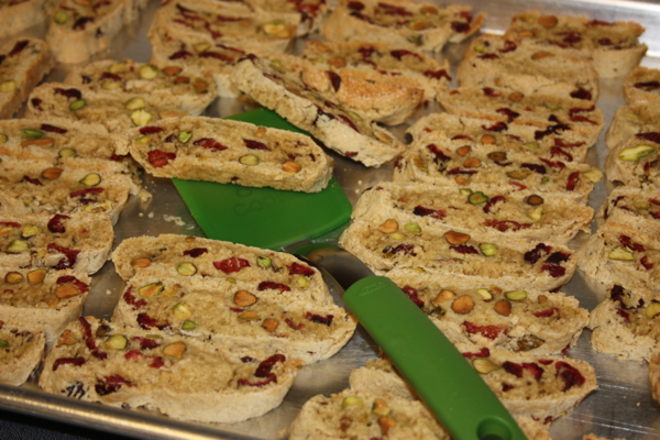 Home » Desserts » Cranberry Pistachio Biscotti and a Giveaway