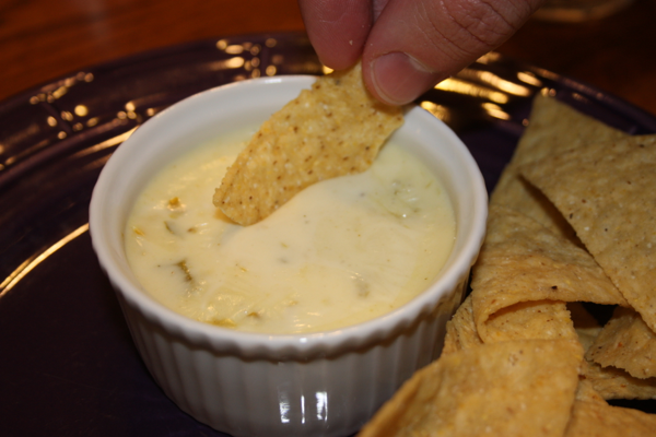 Home » Appetizer » White Queso Dip