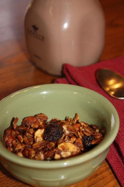 Dinah's Dishes – Chocolate Cherry Almond Granola