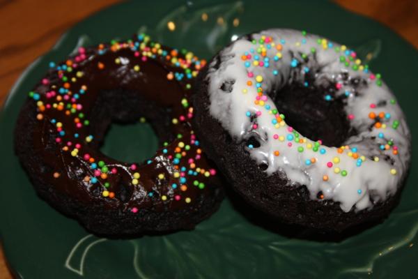 choc donuts