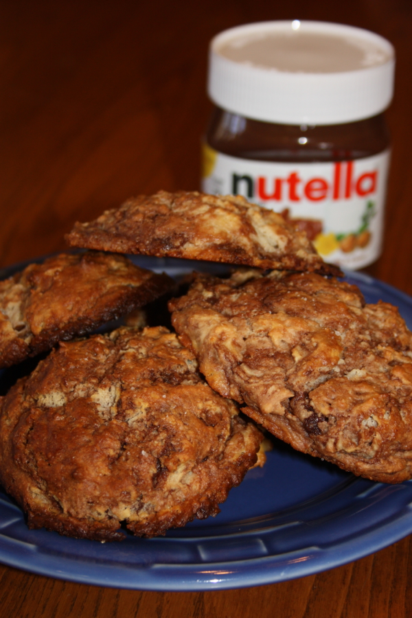 Nutella Muffin Tops