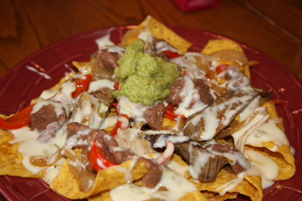 beef fajita nachos at soto s cantina beef fajita nachos at chimy s ...